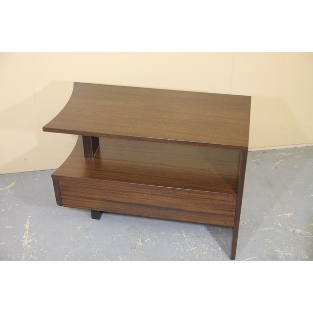 1930s 1930s Modernage African Mahogany Side Table For Sale - Image 5 of 10