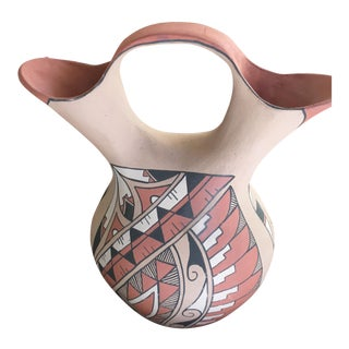Vintage Large Jemez Pueblo Wedding Pot