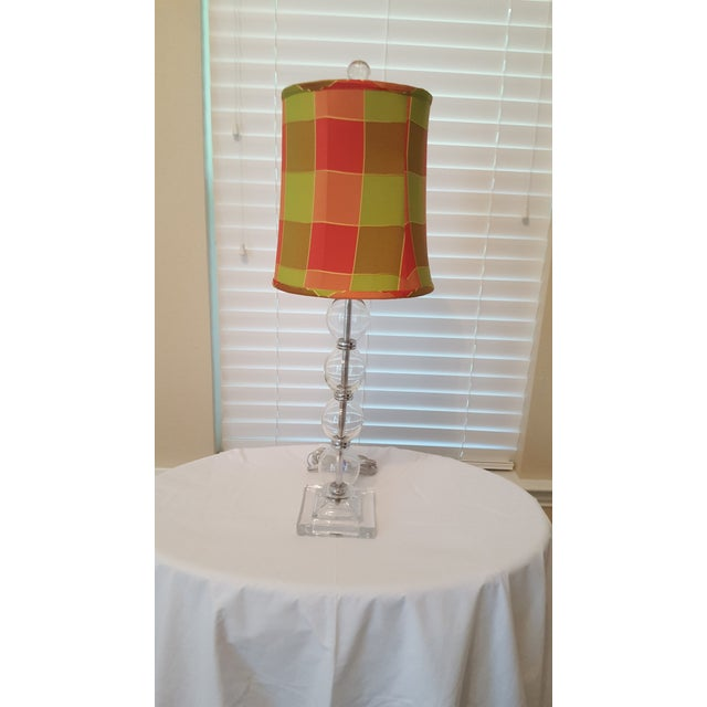 Contemporary Glass Table Lamp - Image 3 of 5