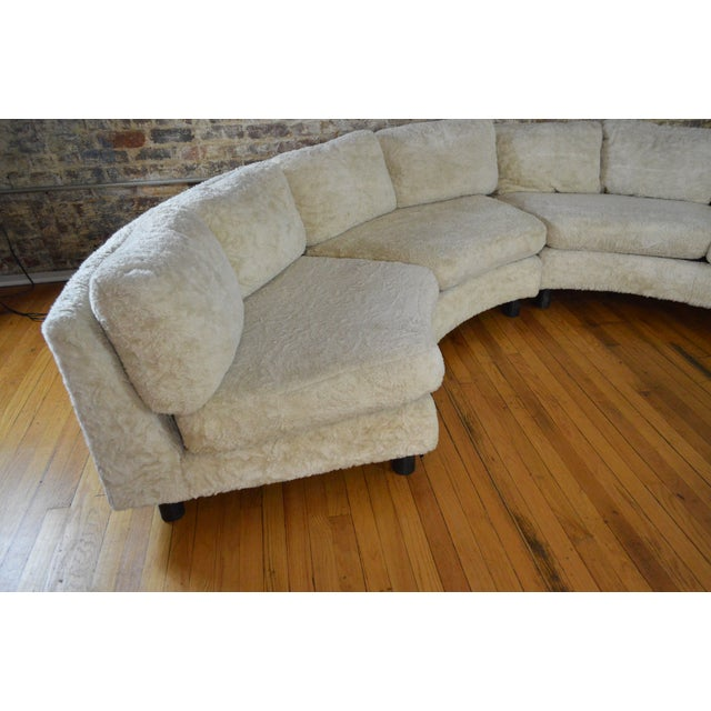 Mid-Century Modern Amazing Milo Baughman Mid Century Modern Sectional Pit Sofa For Sale - Image 3 of 10