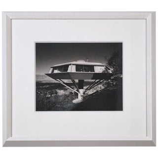 Julius Shulman Photograph of the Chemosphere by John Lautner For Sale