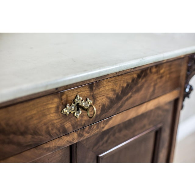 Brown 19th Century Louis Philippe Cabinet For Sale - Image 8 of 13