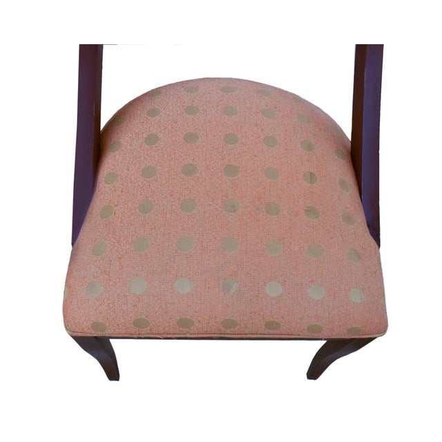 Pietro Costantini 1980's Pietro Costantini for Ello Furniture Post Modern Italian Dining Chairs - Set of 4 For Sale - Image 4 of 8
