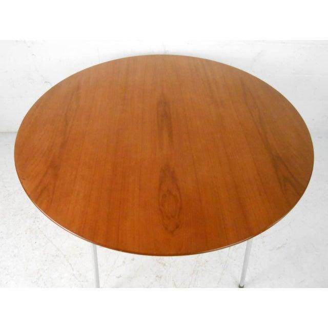 Mid-century Modern Teak Dining Table by Arne Jacobsen for Fritz Hansen - Image 3 of 7