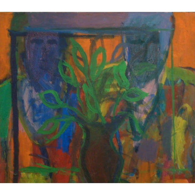 United States Circa 1960 Regional artist David Alexick received his Bachelor of Fine Arts Degree from Richmond...