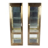 Image of Mastercraft Display Cabinets - A Pair For Sale