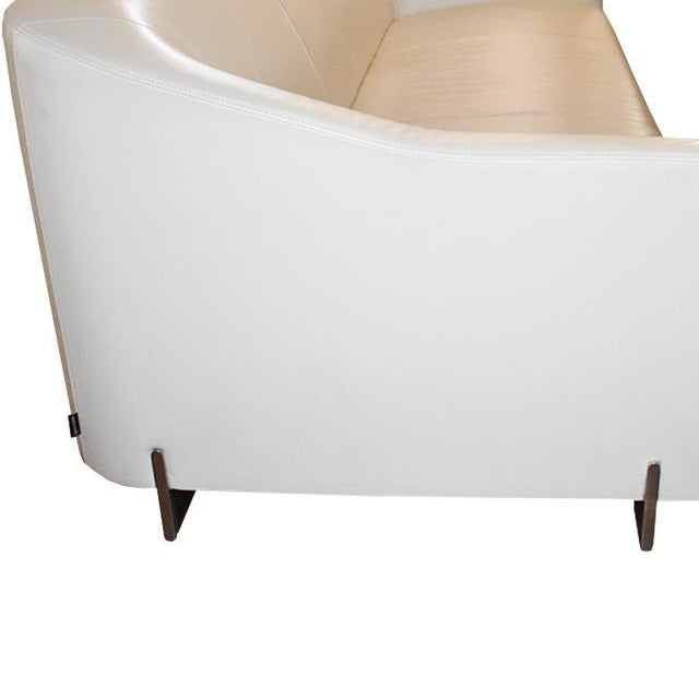 Ligne Roset Late 20th Century Eric Jourdan for Ligne Roset Snowdonia Modernist Sofa For Sale - Image 4 of 8