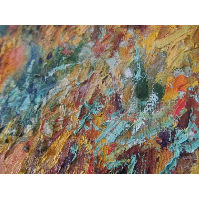 Tuscan Landscape Oil by Anton Sipos For Sale - Image 5 of 7