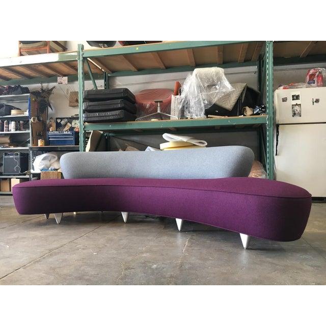 Vladimir Kagan Serpentine Sofa For Sale - Image 10 of 11