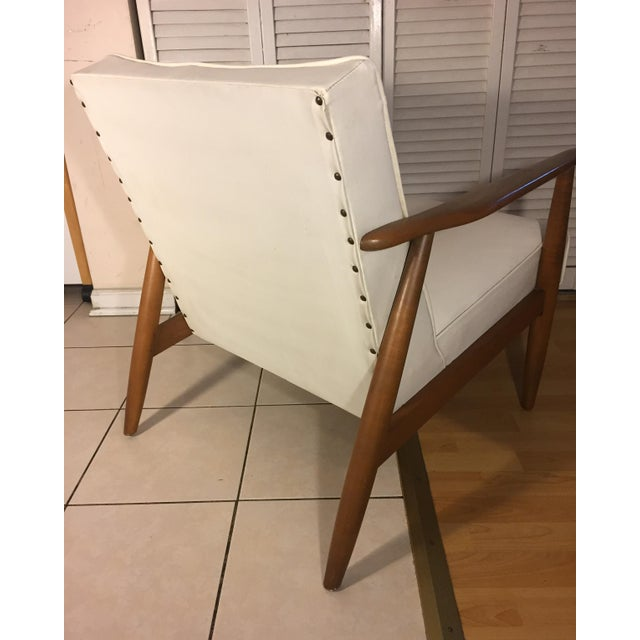 Baumritter Mid-Century Modern Lounge Chair - Image 4 of 6