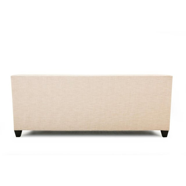 Clad Home Custom Ivory Linen Sofa - Image 6 of 6