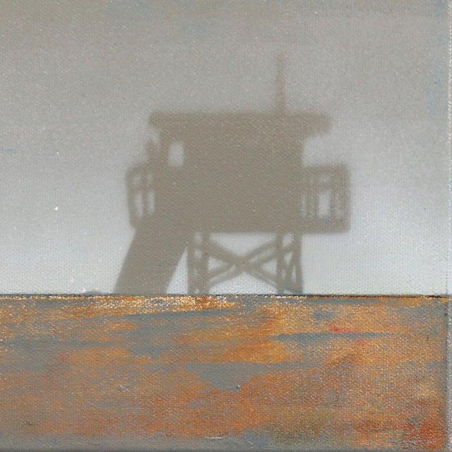"""Original Beach Inspired Artwork by Kathleen Keifer """"Grey Ghost"""" For Sale In Los Angeles - Image 6 of 8"""