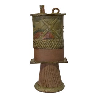 Organic-Shaped Ceramic Vessel
