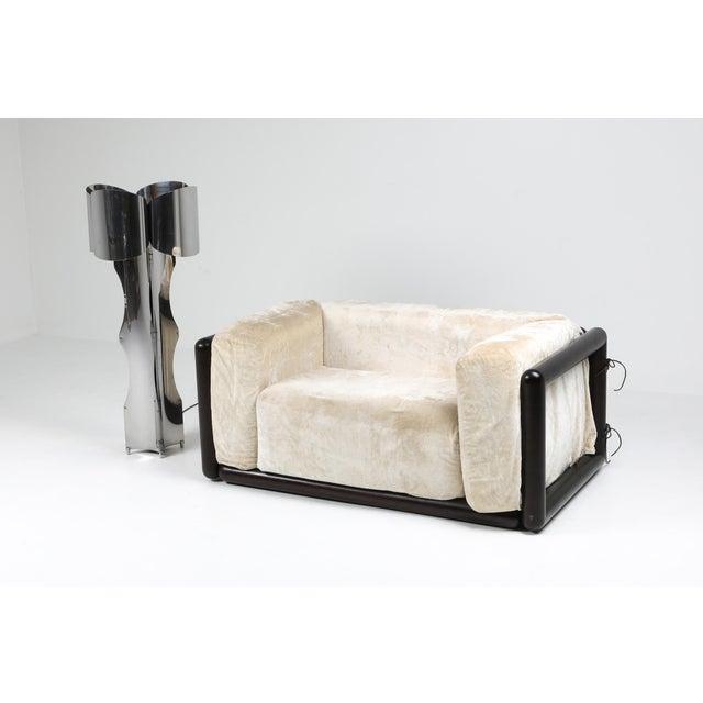 Carlo Scarpa Carlo Scarpa 'Cornaro' Lounge Chair for Simon, 1973 For Sale - Image 4 of 12