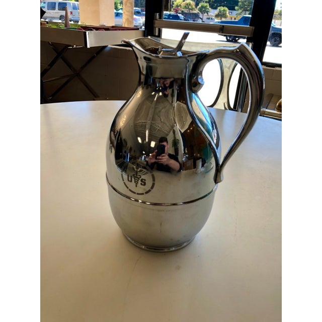 1960s Vintage Thermos Mid Century United States Medical Corps Water Pitcher For Sale In Charleston - Image 6 of 6