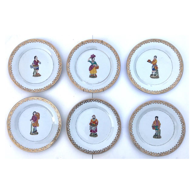 Kitchen Decorative Plates - Set of 6 For Sale - Image 11 of 11