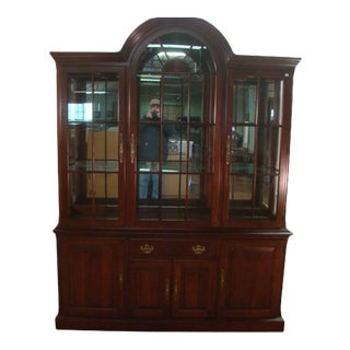 Pennsylvania House Solid Cherry China Cabinet For Sale