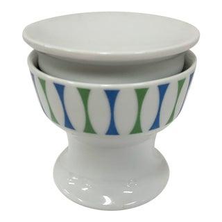 1960s Contempri Paul McCobb Ceramic Covered Sugar Bowl For Sale