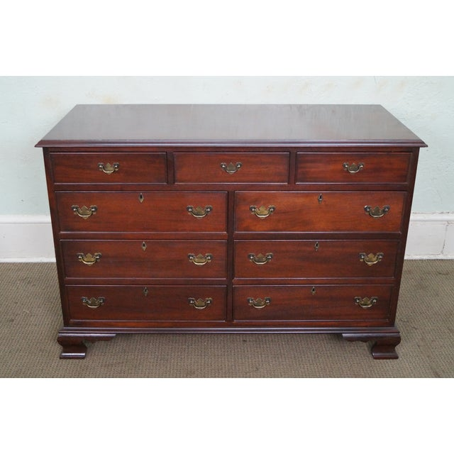 Craftique Solid Mahogany Chippendale Style Dresser - Image 9 of 10