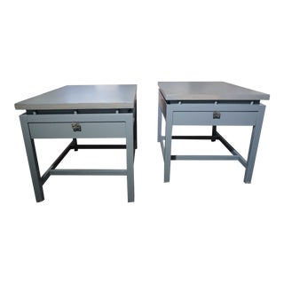 Mid Century American of Martinsville End Tables - a Pair For Sale
