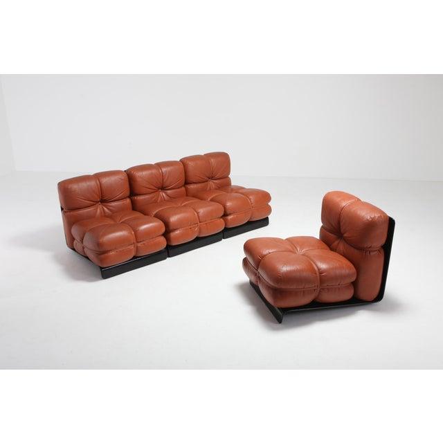 1970s Carla Venosta Ultra Rare 'San Martino' Sectional Sofa for Full For Sale - Image 5 of 13