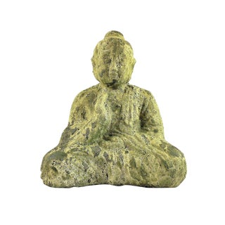 Jade Green Sitting Buddha Statue For Sale