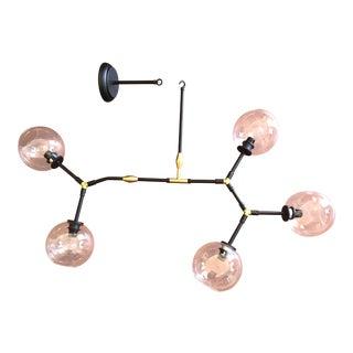 Lindsay Adelman Style Glass Globe Chandelier For Sale