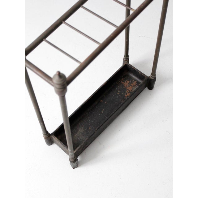 Antique Fireplace or Umbrella Stand For Sale - Image 9 of 10