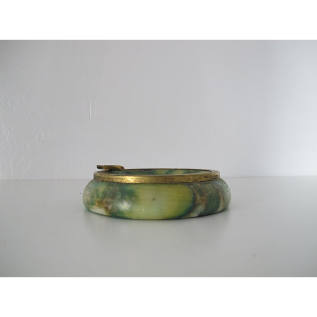 Green Marble Catchall - Image 4 of 5