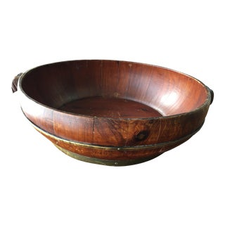 Hand Made Chinese Wood Bowl