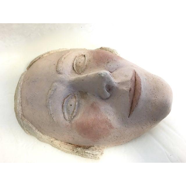 Vintage Terracotta Face Mask - Image 3 of 6