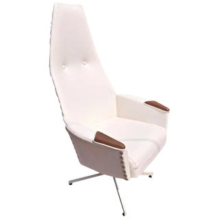 1960s Adrian Pearsall High Back Lounge Chair For Sale