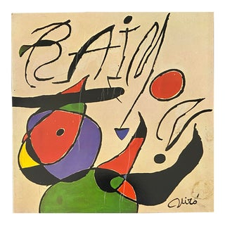 1970s Joan Miro Record Art For Sale