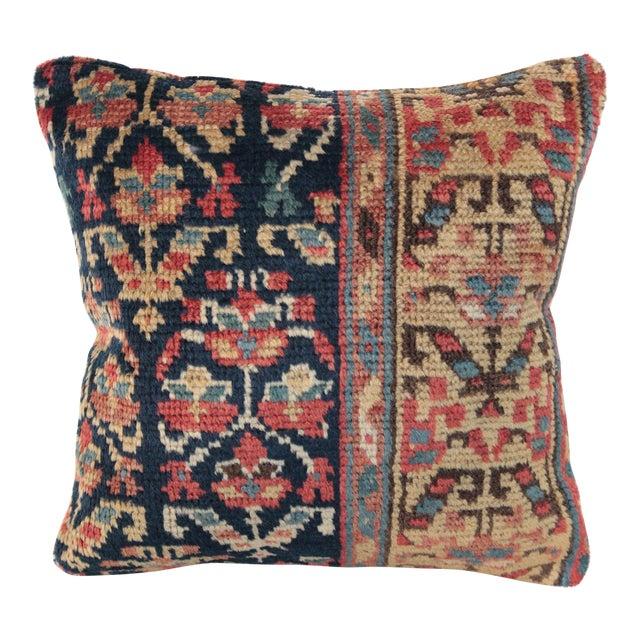 Antique Caucasian Rug Pillow For Sale