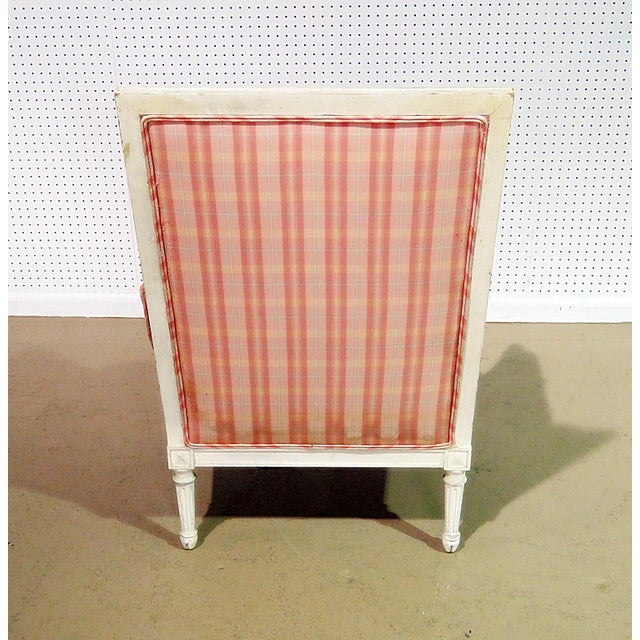 Mid-Century Modern Swedish Style Bergere For Sale - Image 3 of 13