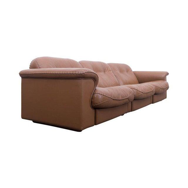 De Sede Adjustable DS 101 Three-Seat Sofa by De Sede For Sale - Image 4 of 10