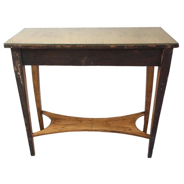 19th Century Austrian Biedermeier Birch Antique Pier Table For Sale - Image 11 of 13