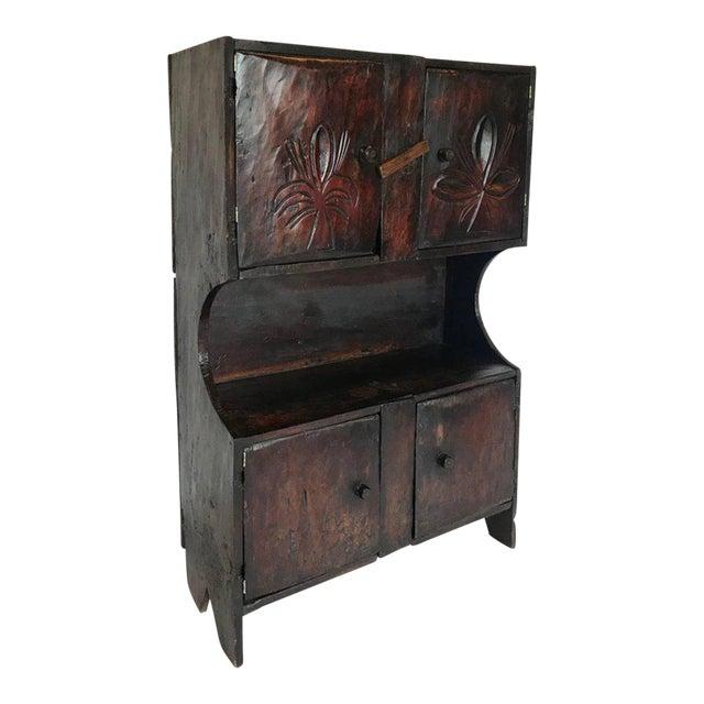 Antique Guatemalan Primitive Cabinet For Sale