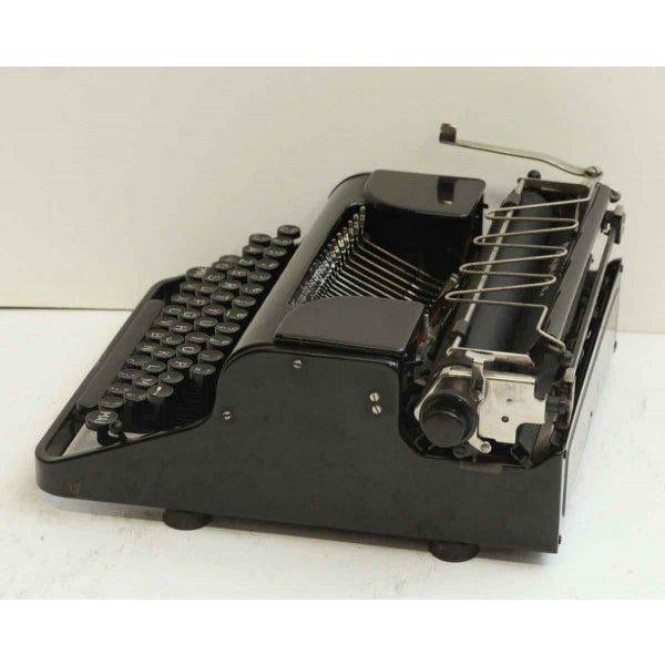 Antique French Portable Typewriter - Image 10 of 10