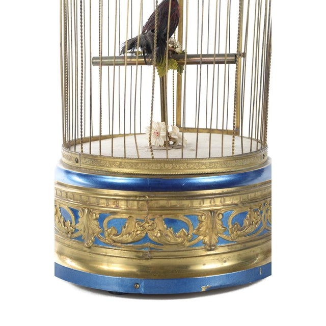 German Mechanical Birdcage Automaton Music Box For Sale In Los Angeles - Image 6 of 9