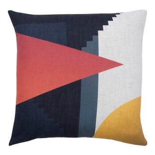 Parma Single-Sided Printed Decorative Pillow For Sale
