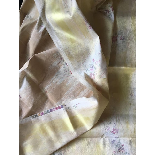 Moving Sale - Ralph Lauren Gold Lamé Floral Fabric - Image 4 of 5