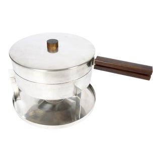 1970s Stelton Chafing or Fondue Set For Sale