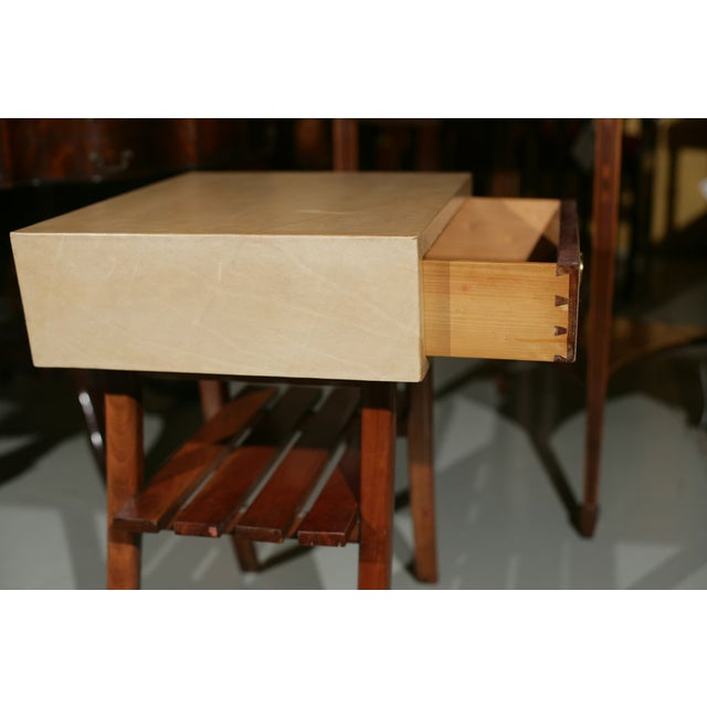 Art Deco Parchment Stands - A Pair For Sale - Image 9 of 10