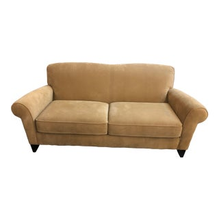 Christopher Lowell Furniture Collection Flexsteel Tan Sofa For Sale