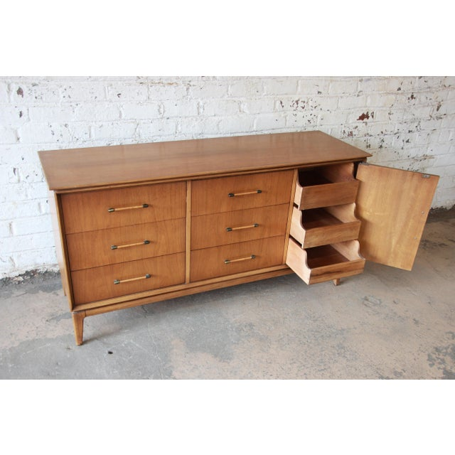 Mid-Century Modern Long Dresser by Century Furniture For Sale In South Bend - Image 6 of 10