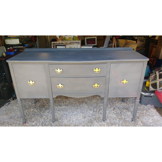 Vintage Chalk Painted Sideboard - Image 2 of 7