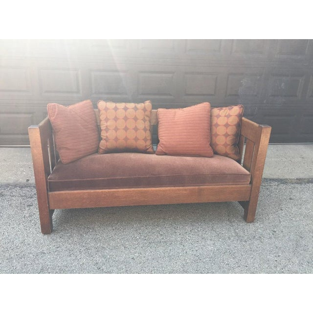 Since 1870 chairs and settles have been manufactured by the Phoenix Furniture Company. This Original settle from 1904, has...