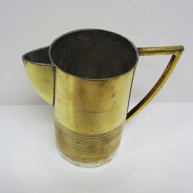 Art Deco Moderne Silver Plated Coffee Service For Sale - Image 4 of 10