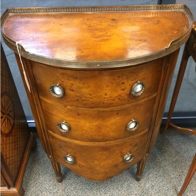 1850's Entry Table with Jasper Faced Pull Handle - Image 6 of 8